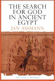 Cover of: The search for God in ancient Egypt