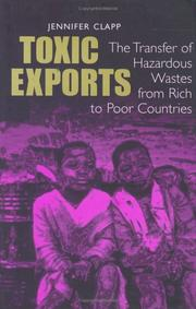 Cover of: Toxic exports