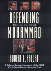 Cover of: Defending Mohammad | Robert E. Precht
