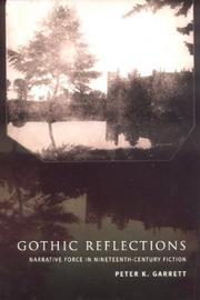 Cover of: Gothic reflections | Peter K. Garrett