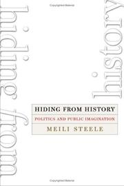 Cover of: Hiding from history