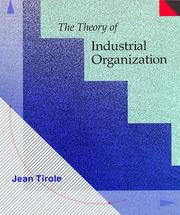 Cover of: The theory of industrial organization