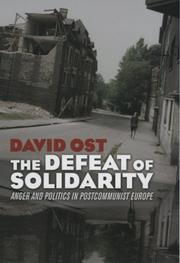 Cover of: The defeat of Solidarity