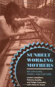 Cover of: Sunbelt working mothers | Louise Lamphere