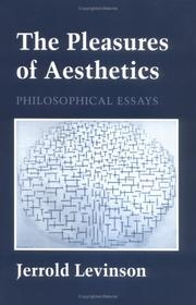 Cover of: The pleasures of aesthetics