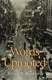 Cover of: Words of the Uprooted