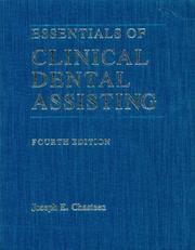 Cover of: Essentials of clinical dental assisting | Joseph E. Chasteen