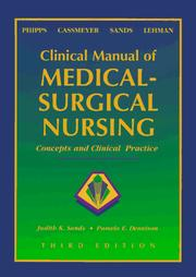 Clinical manual of medical-surgical nursing