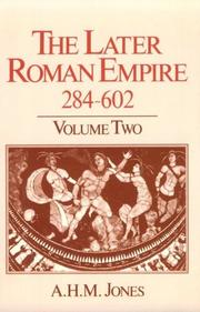 Cover of: The later Roman Empire, 284-602: a social economic and administrative survey