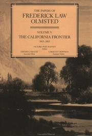 Cover of: The California frontier, 1863-1865