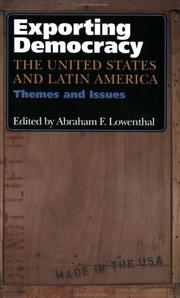Cover of: Exporting democracy | edited by Abraham F. Lowenthal.