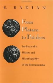 Cover of: From Plataea to Potidaea