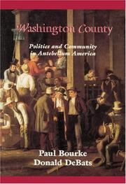 Cover of: Washington County