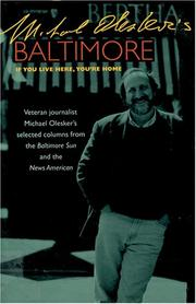 Cover of: Michael Olesker's Baltimore