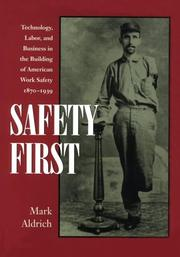 Cover of: Safety first | Mark Aldrich