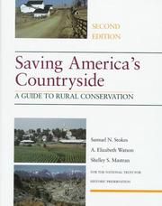 Cover of: Saving America's countryside