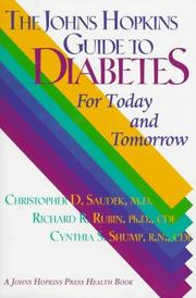 Cover of: The Johns Hopkins guide to diabetes