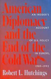 Cover of: American diplomacy and the end of the Cold War