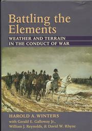 Cover of: Battling the Elements | Harold A. Winters
