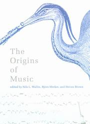 Cover of: The origins of music |
