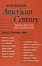 Cover of: At the End of the American Century