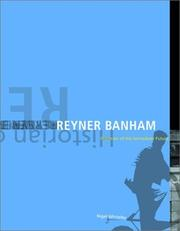 Cover of: Reyner Banham | Nigel Whiteley