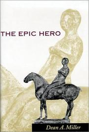 Cover of: The epic hero