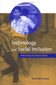 Cover of: Technology and Social Inclusion