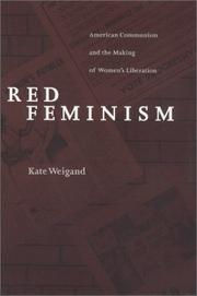 Cover of: Red Feminism | Kate Weigand