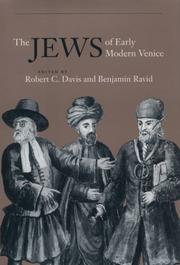 Cover of: The Jews of Early Modern Venice |