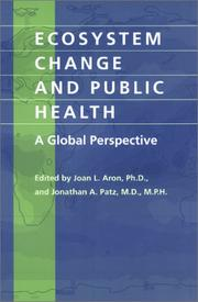 Cover of: Ecosystem Change and Public Health |