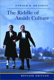 Cover of: The riddle of Amish culture