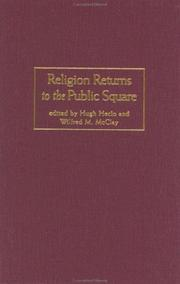 Cover of: Religion Returns to the Public Square |