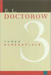 Cover of: Three screenplays