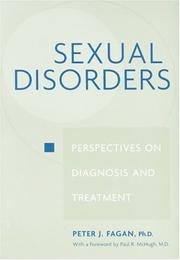 Cover of: Sexual Disorders