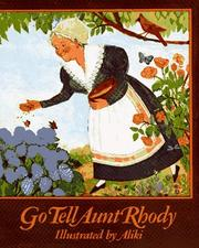 Cover of: GO TELL AUNT RHODY