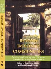 Cover of: Beyond imagined communities
