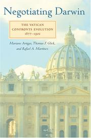 Cover of: Negotiating Darwin: the Vatican confronts evolution, 1877-1902