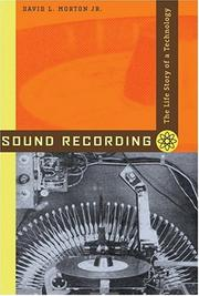 Cover of: Sound Recording | David L., Jr. Morton