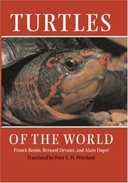 Cover of: Turtles of the World | Franck Bonin