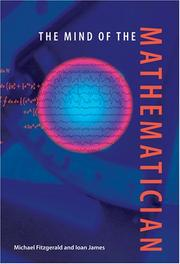 Cover of: The mind of the mathematician by