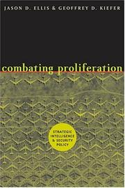 Cover of: Combating Proliferation | Jason D. Ellis