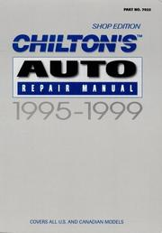 Cover of: AUTO REPAIR MANUAL 1995-1999 - Perennial Edition | John Harold Haynes