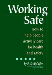 Cover of: Working Safe