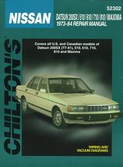 Cover of: Nissan