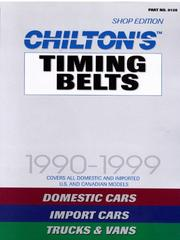 Chiltons timing belt service manual