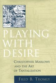 Cover of: Playing with desire