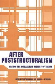 Cover of: After poststructuralism