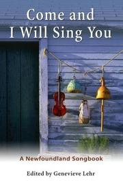 Cover of: Come and I Will Sing You |