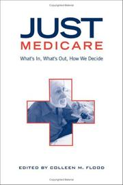Cover of: Just Medicare
